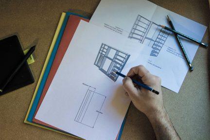 Projets de meubles sur mesure et d'agencement